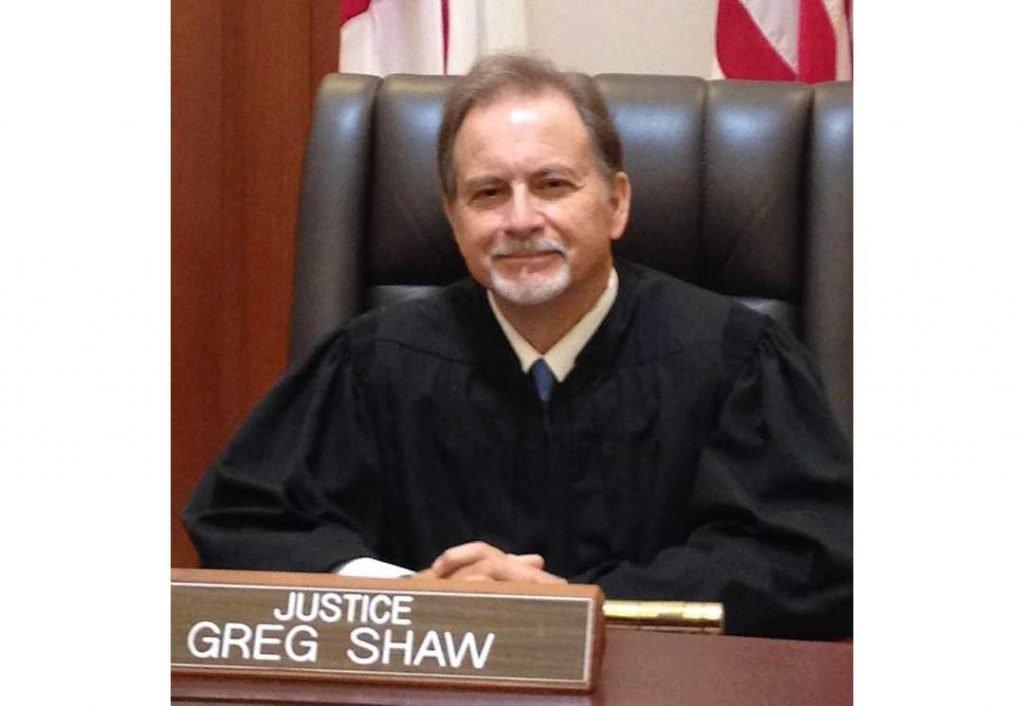 Justice Greg Shaw