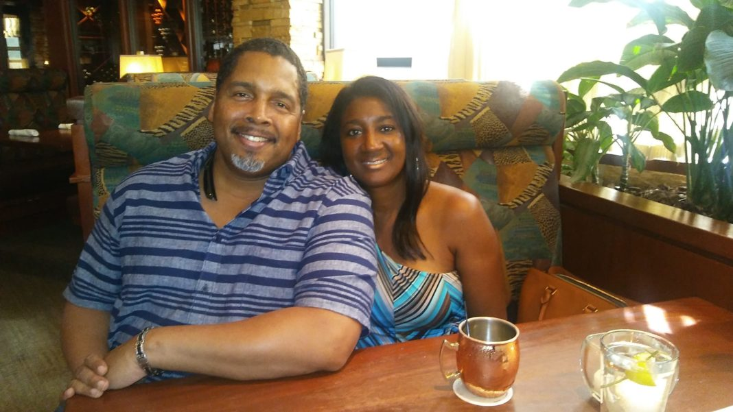 Joel Thibodeaux with his Wife Stacey Thibodeaux